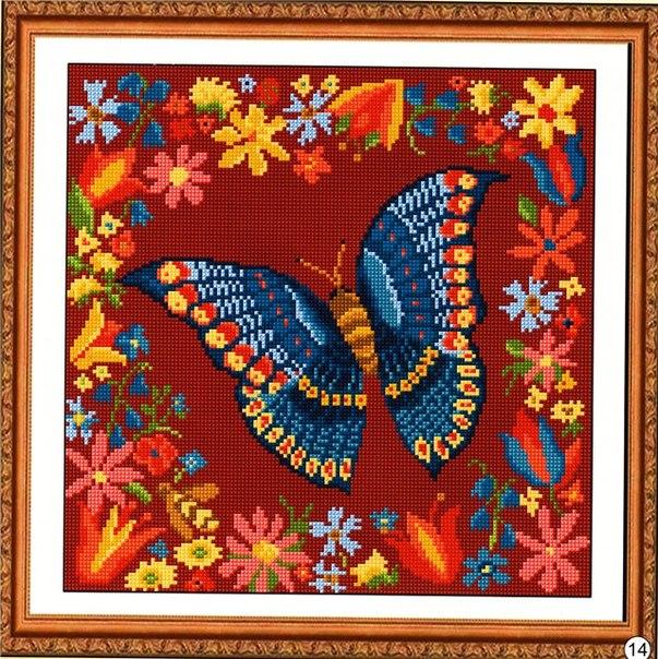 Подушка бабочка 1 вышивка крестом.jpg
