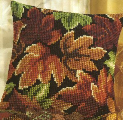 Вышитая подушка Осень 2.jpg