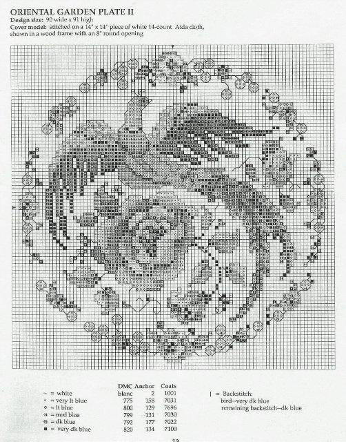 Подушка Синяя Гжель вышивка крестом схема.jpg